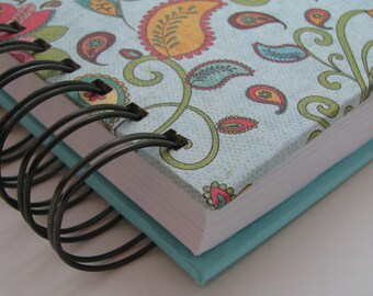 Line A Day Journal - Five Year Journal - Gratitude Journal - Line A Day Diary - Five Year Diary - Yearly Journal - Lined Journal - Paisley