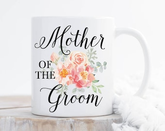 MOG Gift | Mother of the Groom Unique Gift | Mother of the Groom Mug | Mother Engagement Gift | Grooms Mother Mug | Grooms Mother Gift