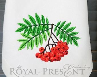 Machine Embroidery Design Rowan