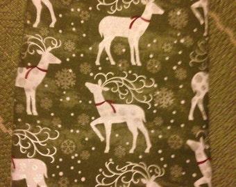 Holiday Dog bandana, reindeer