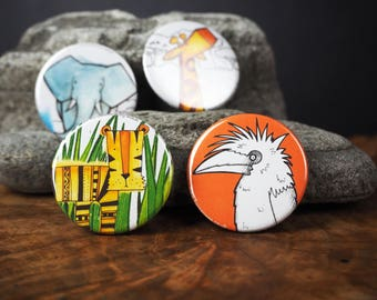 Animal Magnets - 38mm diameter