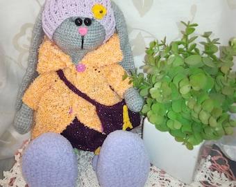Bunny . Tilda bunny . Bunny toy . Handmade Dunny .
