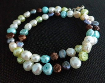 SALE!!! Fresh water pearl necklace