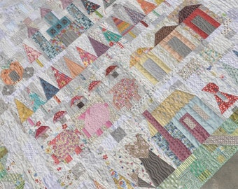 Lucy Carson Kingwell That Fairy Tale Quilt Pattern Booklet For Jen Kingwell Designs