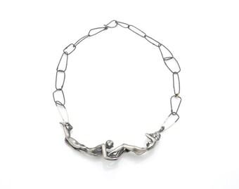 Spring Necklace (Silver Version)