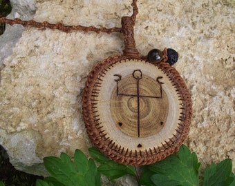 Power Jarannic Rune pendant-Fae, wicca, spirit of nature, pagan, sea witch, forest, druid, priestess, goddess,faerie,sea goddess,