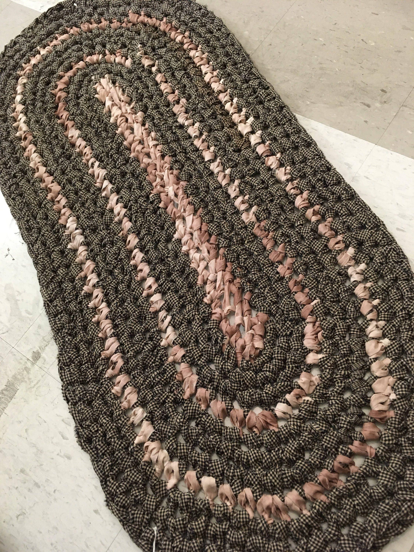 Fine Häkeln Ovale Teppich Muster Ensign - Decke Stricken Muster ...