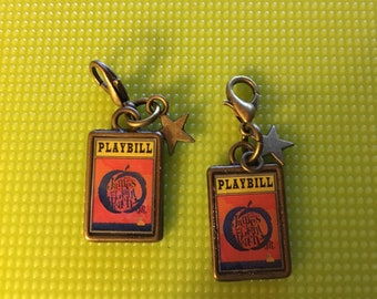 Theater / Show Charm - Playbill Play Bill - READY TO SHIP James and tge Giant Peach Jr