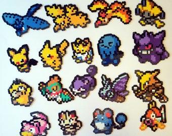 Pokemon Icon Perlers