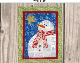 HNH01 Seasons in Patches - Winter PDF Pattern