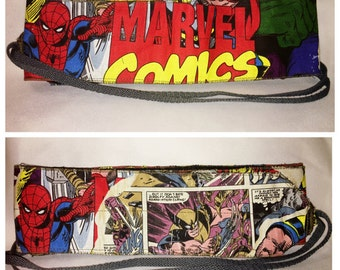 Heroes Marvel Comics - WERK by E Noemi - Reversible Wrist Wraps