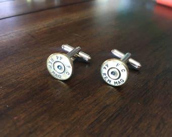 Bullet jewelry, cuff links, bullet cuff links, mens bullet jewelry
