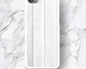 iPod Touch 6th Gen White Wood Texture Print Cases iPod Touch 6G, Raw Wooden Pattern iPod 6 Covers,  iTouch 5th Generation 4 4G 5G Covers