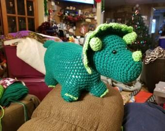 Stuffed triceratop