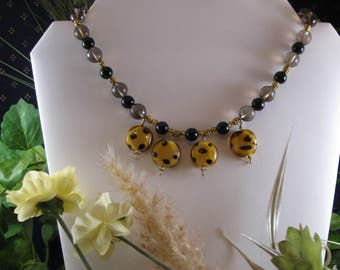 Phyllis Necklace. A little wild, but perfectly lovely!