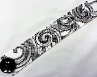 Monochromatic Scroll Cuff