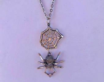 Spiders Web Necklace