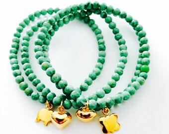 Lucky green bracelet
