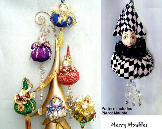 MM239E – Merry Maubles, Christmas Ornaments Pattern - PDF