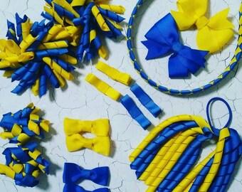 Custom Made School Hair Bow Accessory - Mega Pack