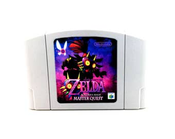 Legend of Zelda Majoras Mask MASTER QUEST - Nintendo 64 Reproduction - n64 repro