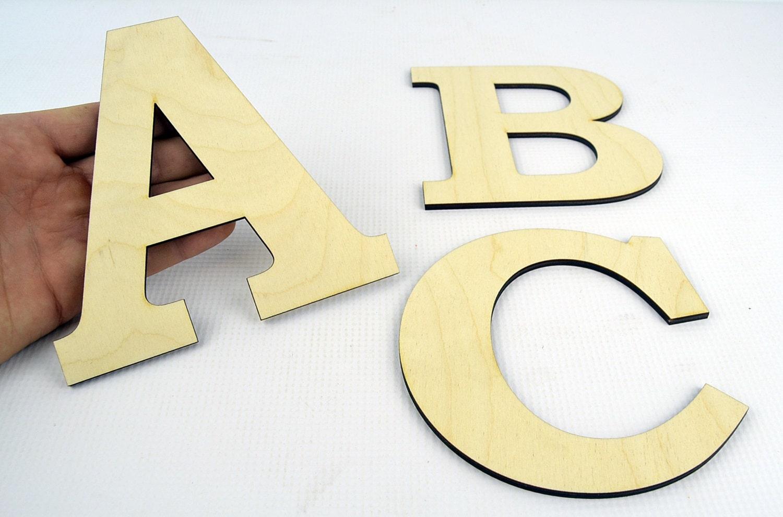 XXL Wooden Letters / Wall Hanging / Nursery Decor / Alphabet