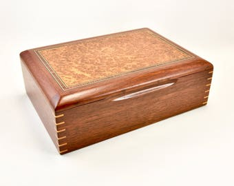 Jewellery Box, Jewellery storage, Timber Jewellery Box, gift for her.