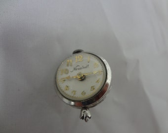 a535 Vintage Original Newstedt Imperial 1740 Ball Pendant Pocket Watch