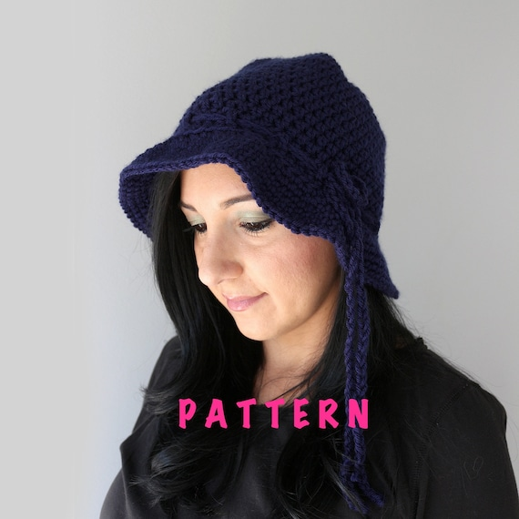 Crochet Pattern For Hat With Brim Image Collections Knitting