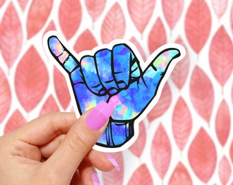 Hang Loose Ice - Vinyl Stickers, Cute Stickers, Laptop Sticker