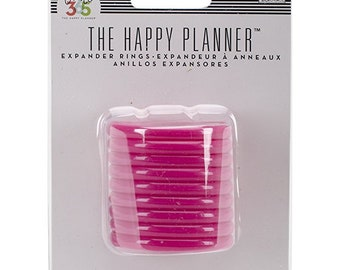 BIG ideas Create 365 The Happy Planner Expander Rings, Pink