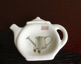 Vintage Phalzgraff Tea Bag Holder made in USA