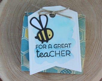Teacher Appreciation (2)/Teacher Thank You/Teacher Tea Gift/Teacher Tag