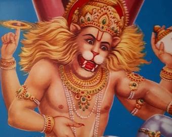 Hindu God Narasimha dev