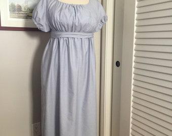 Jane Austen Regency Gown by Iblamejanetoo - U.S. Size 18-20