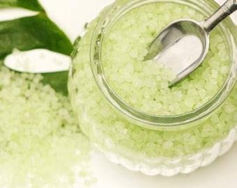 Cool Citrus Basil Bath Salts