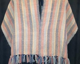 100% Alpaca Hand Woven Shawl/Wrap