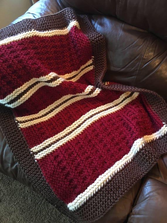 Mountain Cabin Baby Blanket A Loom Knit Pattern