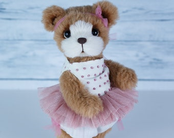Artist collectible Teddy bear Misty(OOAK)