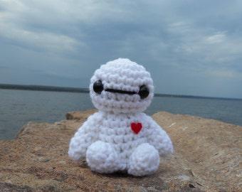 Baymax Disney Amigurumi Crochet