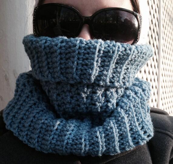 Crochet Pattern Turtleneck Cowl Crochet Cowl Pattern Crochet