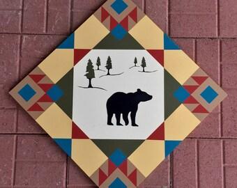 Bear Barn Quilt
