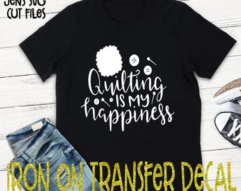 Quilting Vinyl Iron On Transfer/Iron On Decal/T-shirt Transfer/Iron On Sheet/DIY T-shirt Transfer