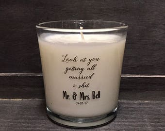 Getting Married.... Soy Candle (12 oz)