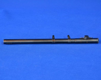 Vintage Mossberg Rifle Scope - O.F. Mossberg and Sons - No. M 4 C - 4 Power with Ring Mounts - 1940s - Hunting Scope