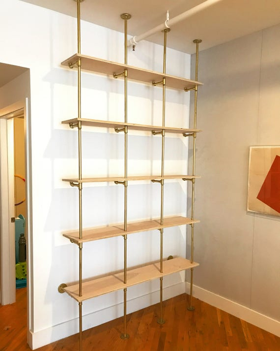 Birch Plywood Amp Black Pipe Shelves