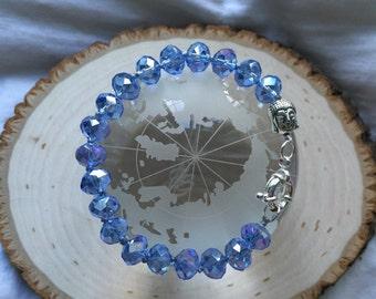 Sky Blue Buddha Bracelet