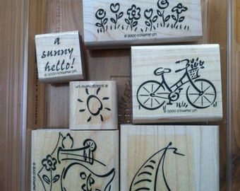 Simply Summer stamp set by Stampin Up