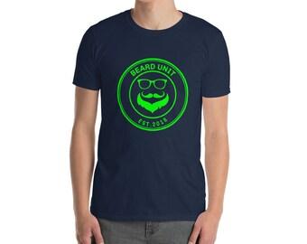 Beard Unit Mens Shirt, Mens Beard Shirt, Beard Tshirt, Mens Black Beard Shirt, Funny Beard Shirt, Funny Saying Beard Shirt