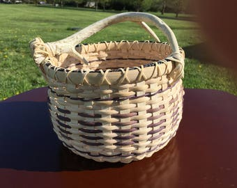 Antler Basket - Nuetral colors